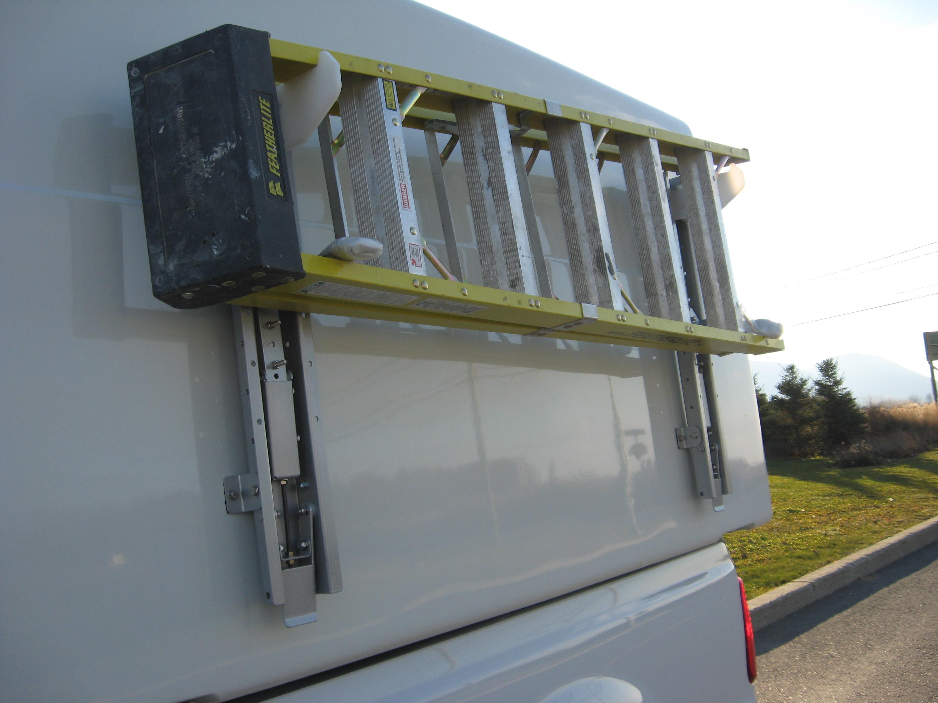 Side Mounted Ladder Rack